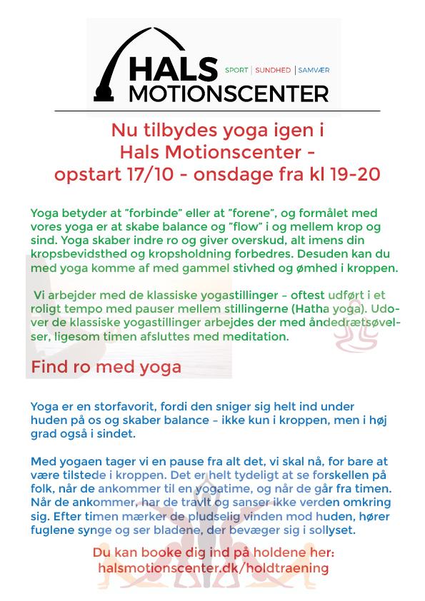 Yoga oktober 2018