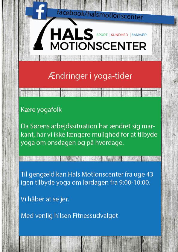 Yoga, ændringer